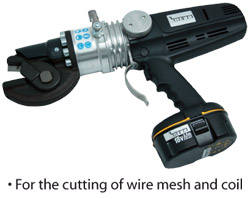 Electro-hydraulic Steel Cutter with Battery